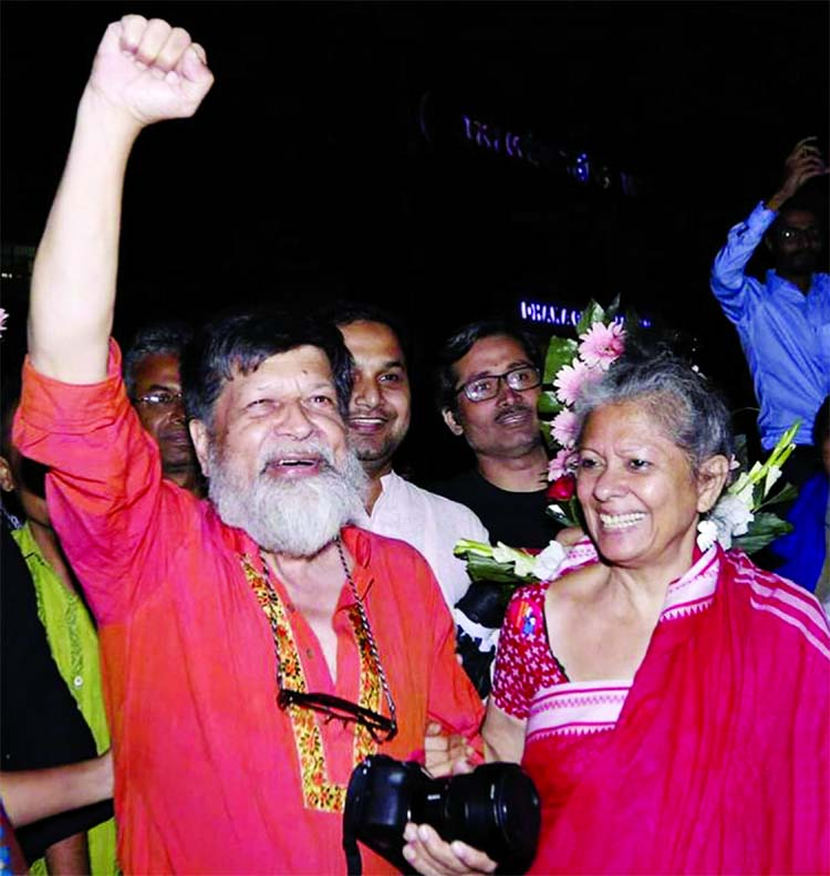 Shahidul Alam freed finally