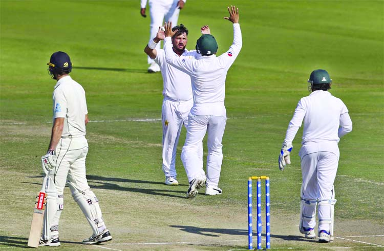 Yasir Shah fastest to take 200 Test wickets, breaks 82-year record