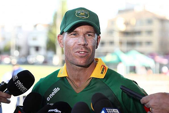 Warner named Sylhet Sixers captain