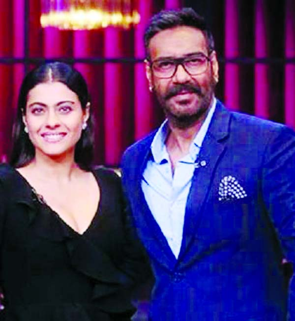 Kajol stumps Ajay to win the Rapid Fire round