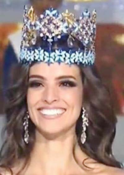Miss Mexico Vanessa Ponce de Leon wins Miss World 2018 crown