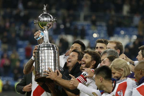 Copa Libertadores saga ends as River Plate wins in Madrid
