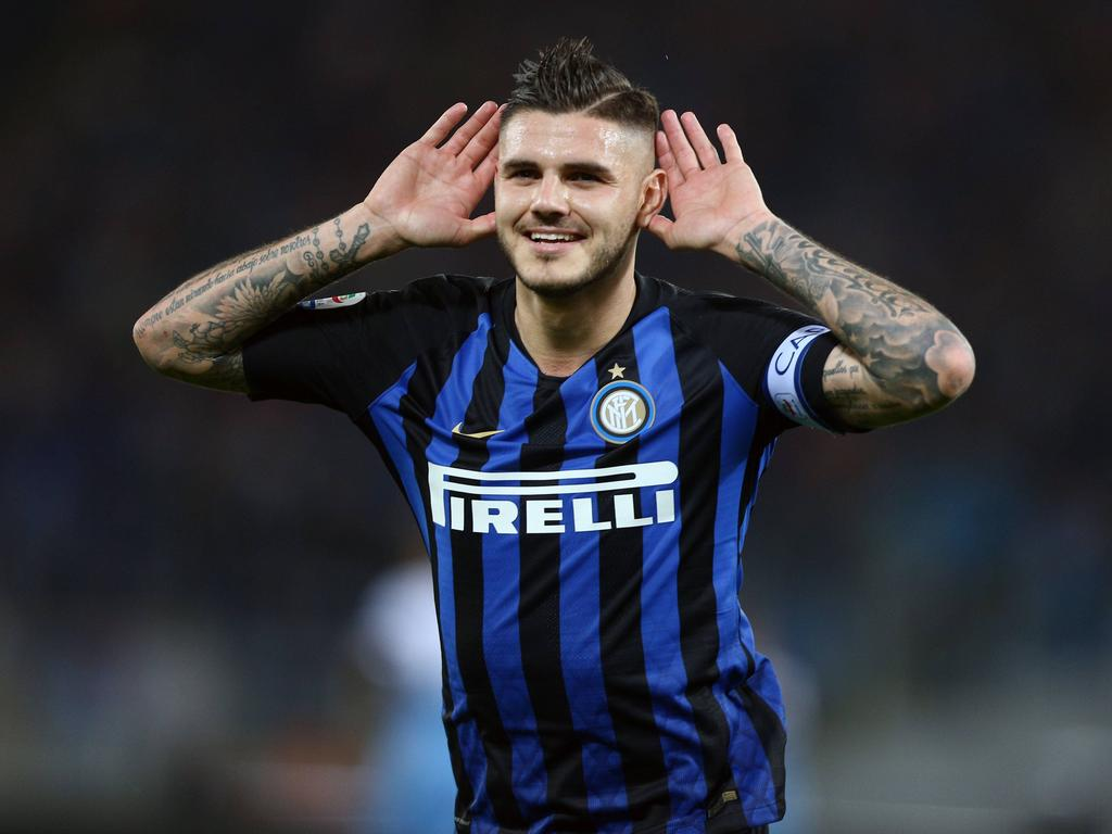 Serie A golden boy Icardi looking to shine on bigger stage