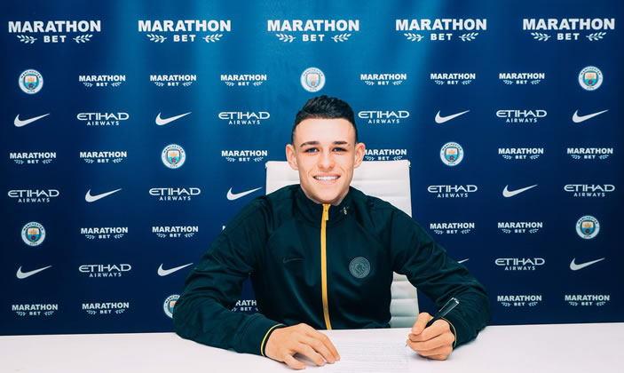 City starlet Foden signs new contract