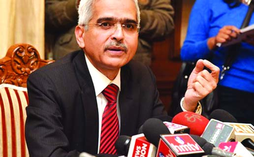 Shaktikanta Das named India central bank governor