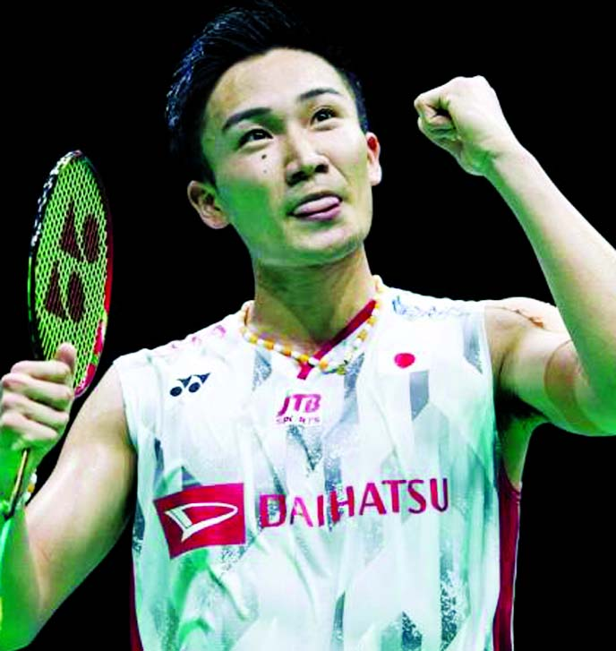 World champion Momota makes electric start to BWF Finals