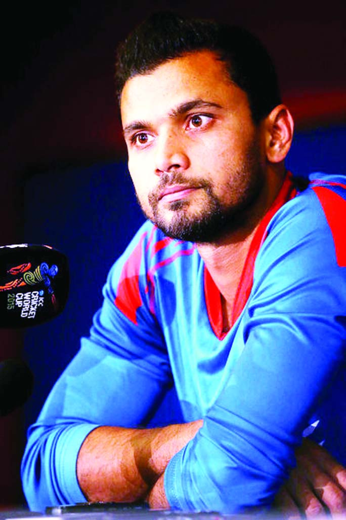 Mashrafe regrets not getting another 20-25 runs after loss