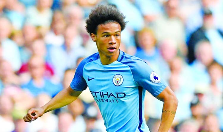 Sane double secures Champions League top spot for Man City