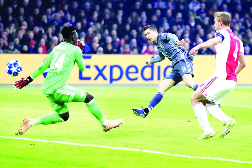 Bayern top group after six-goal thriller at Ajax