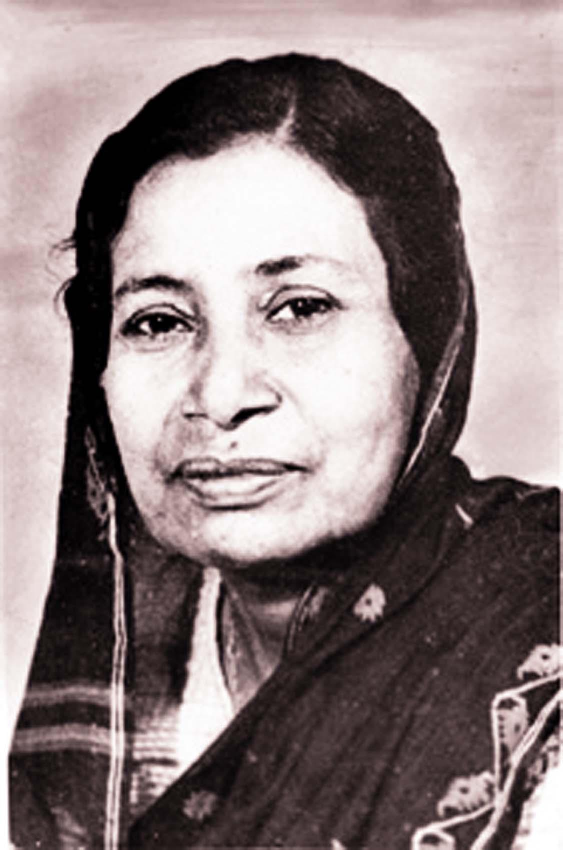 Poet Mahmuda Khatun Siddiqua