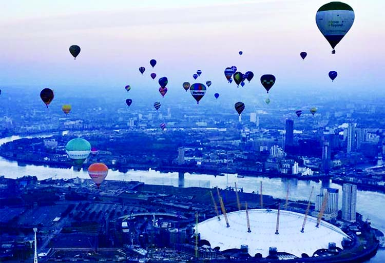 Hot air balloons to fill the London  skyline soon