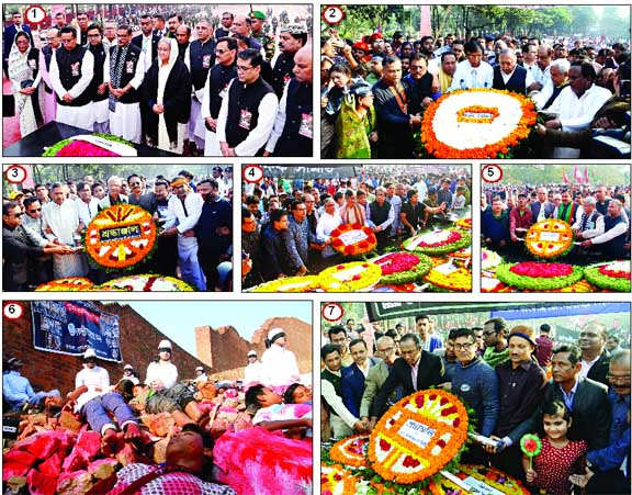 SNAPSHOTS ON MARTYRED INTELLECTUALS DAY OBSERVANCE