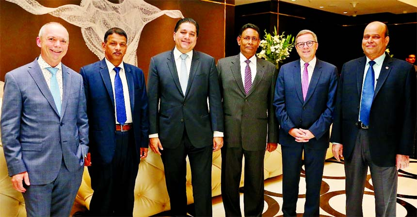 InterContinental Hotels Group Management Team visits Dhaka