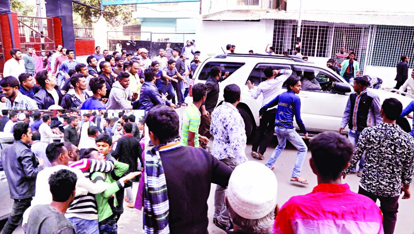 Dr Kamal`s motorcade attacked