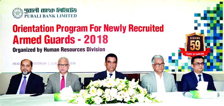 Md. Abdul Halim Chowdhury, Managing Director of Pubali Bank Limited, presiding over a