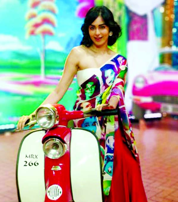 Adah Sharma upped the fashion game on Star Screen Awards