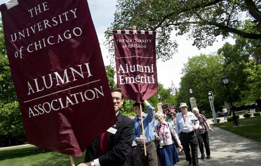 Get involved with alumni association
