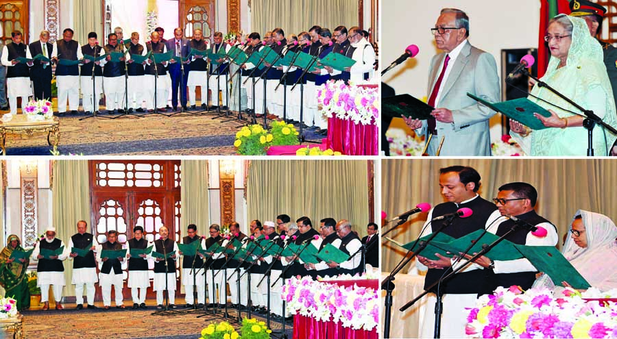 New Cabinet members also take oath