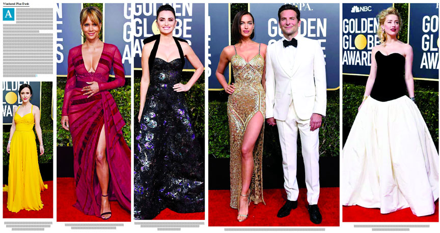 Golden Globes 2019 red carpet pics of best and worst dressed celebrities