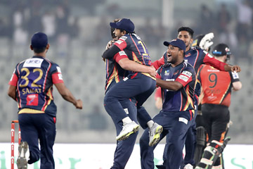 Chittagong Vikings tie with Khulna Titans (win in 'Super Over')