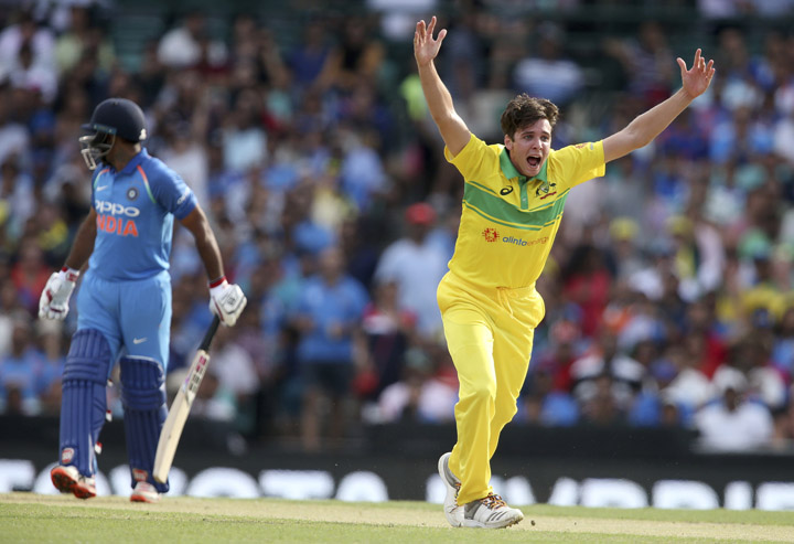 Australia beat India by 34 runs in 1st ODI