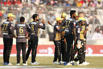 Narrow win for Rajshahi Kings