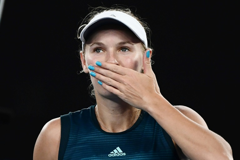 Emotional Wozniacki launches Australian Open defence