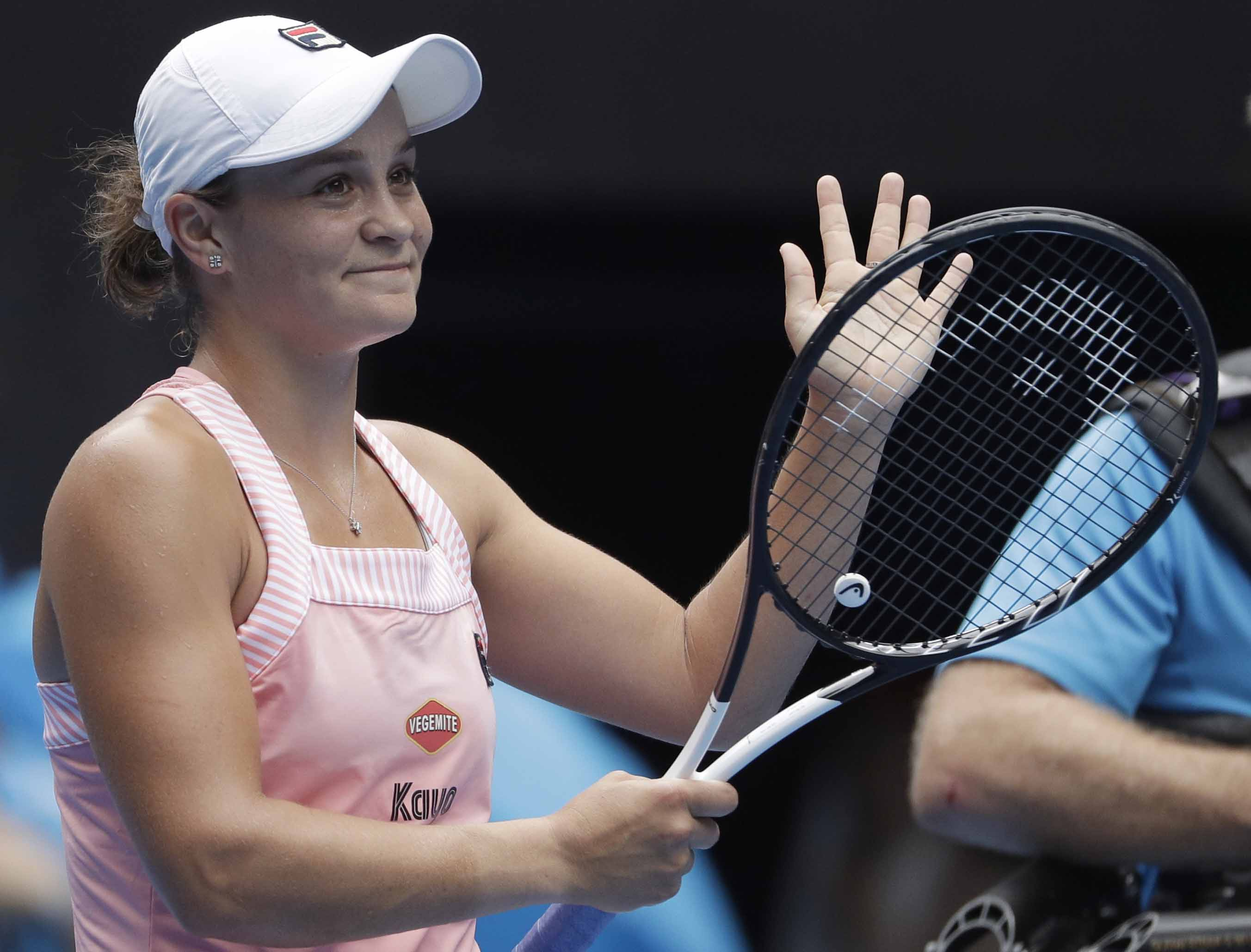 'Short and strong' Barty enjoying taste of Open success