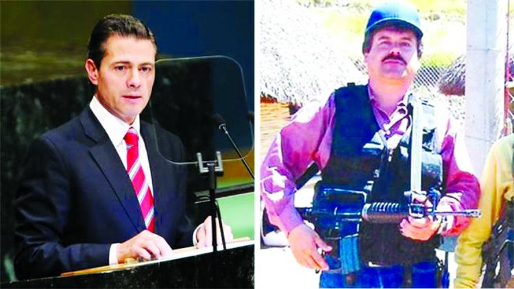 El Chapo 'paid $100m bribe to former Mexican President Peña Nieto'