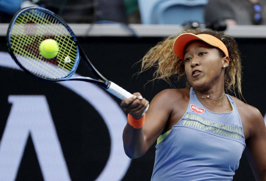 Fourth seed Osaka surges into Aussie Open third round