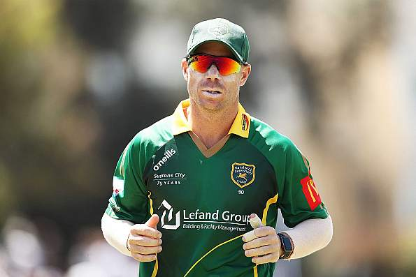 Warner to return to Australia from BPL with elbow injury