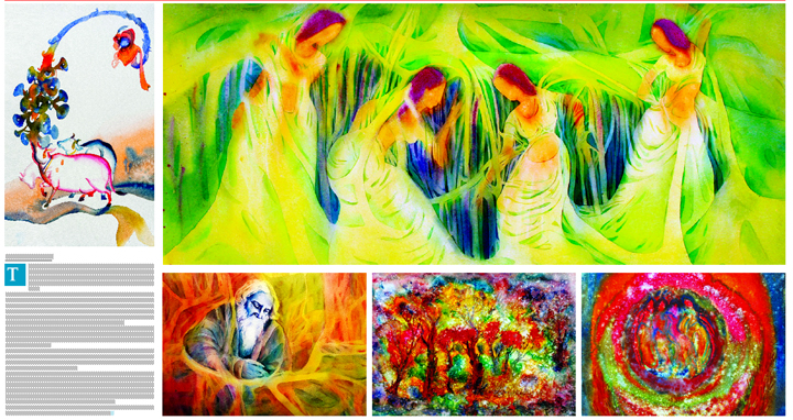 Group painting exhibition 'Preceptor-Disciple: Disciple-Preceptor'