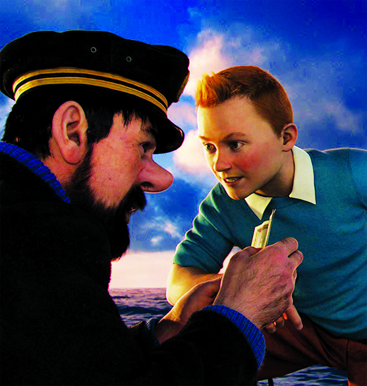 Spielberg's The Adventures of Tintin on Duronto TV