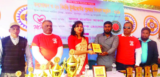 CHANDPUR: Sharmin Akter, UNO, Matlab Uttar inaugurating  the  'Pigeon Mela as Chief Guest on Friday .