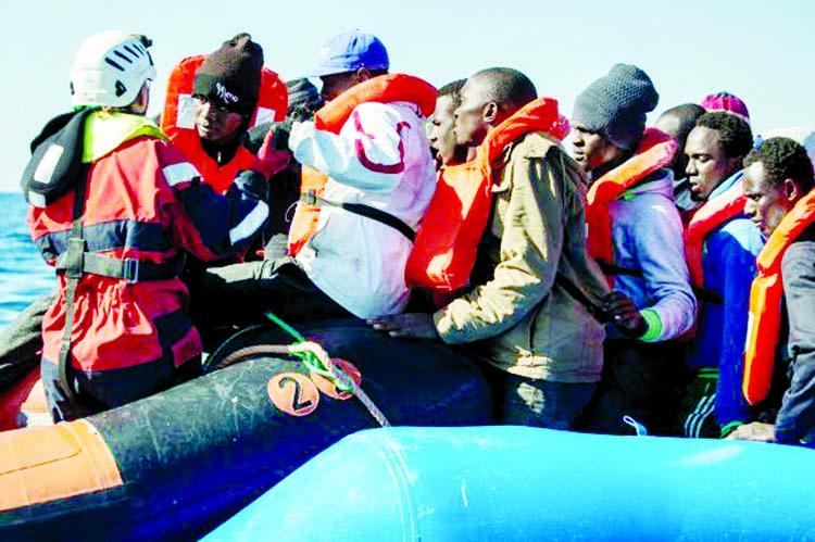 170 migrants missing in 2 Mediterranean incidents