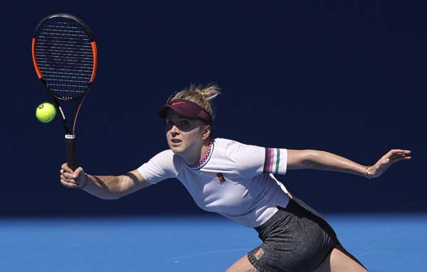 Sixth seed Svitolina unlocks Keys to make Open quarters