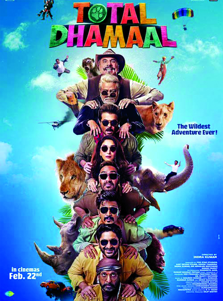 Total Dhamaal trailer