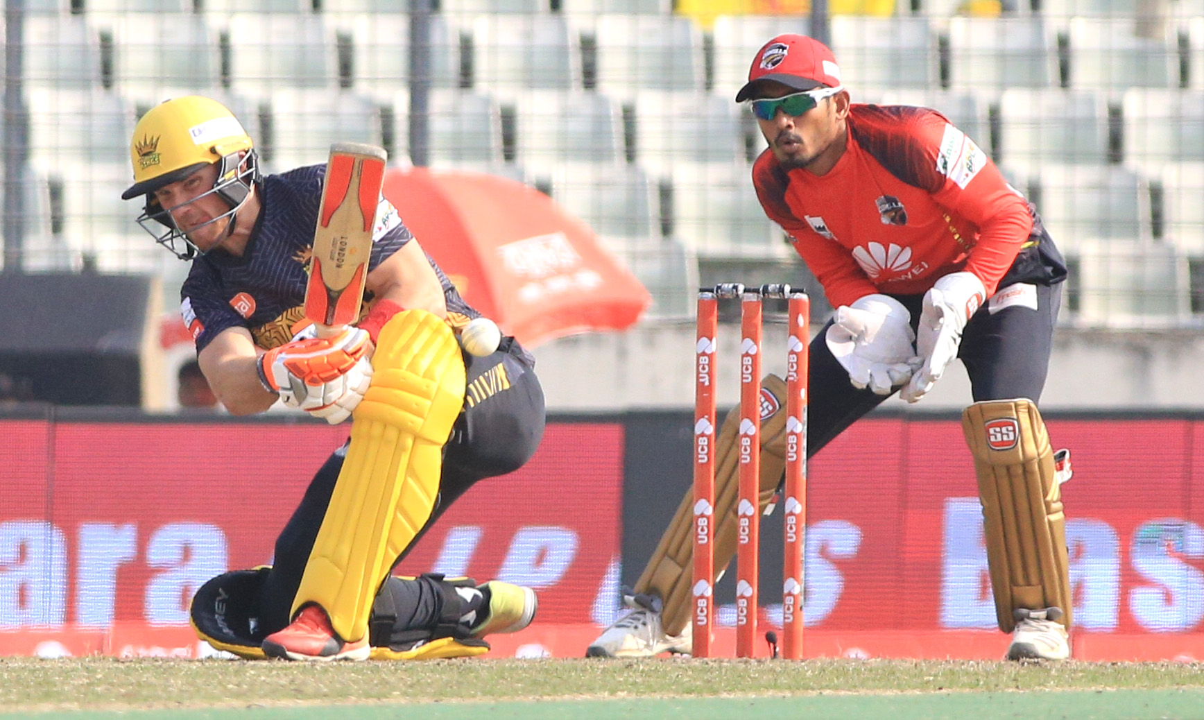 Evans's breezy ton secure Rajshahi's fourth win in BPL