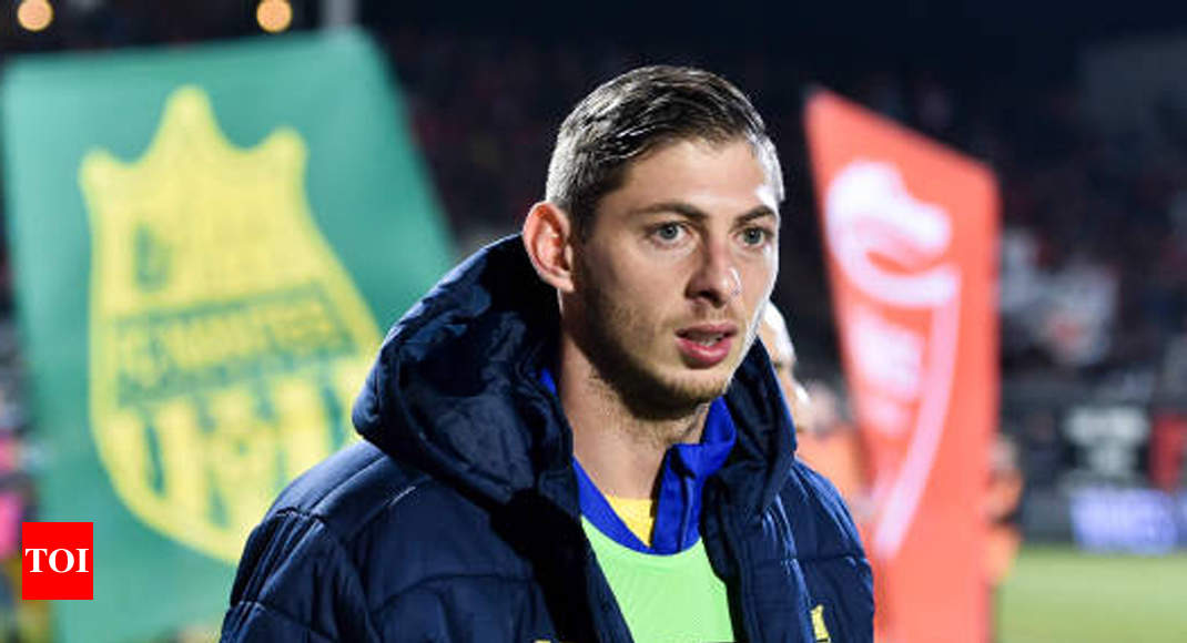 Cardiff striker Sala missing after suspected plane crash