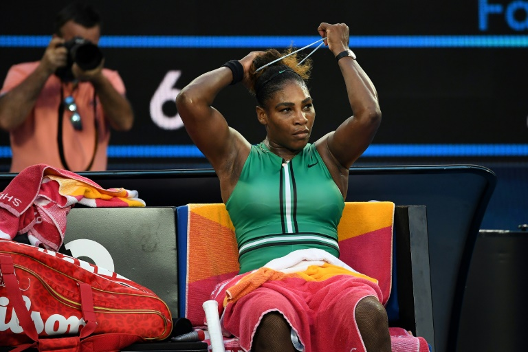 Steely Serena in 'different space', ready for record Slam win: Coach