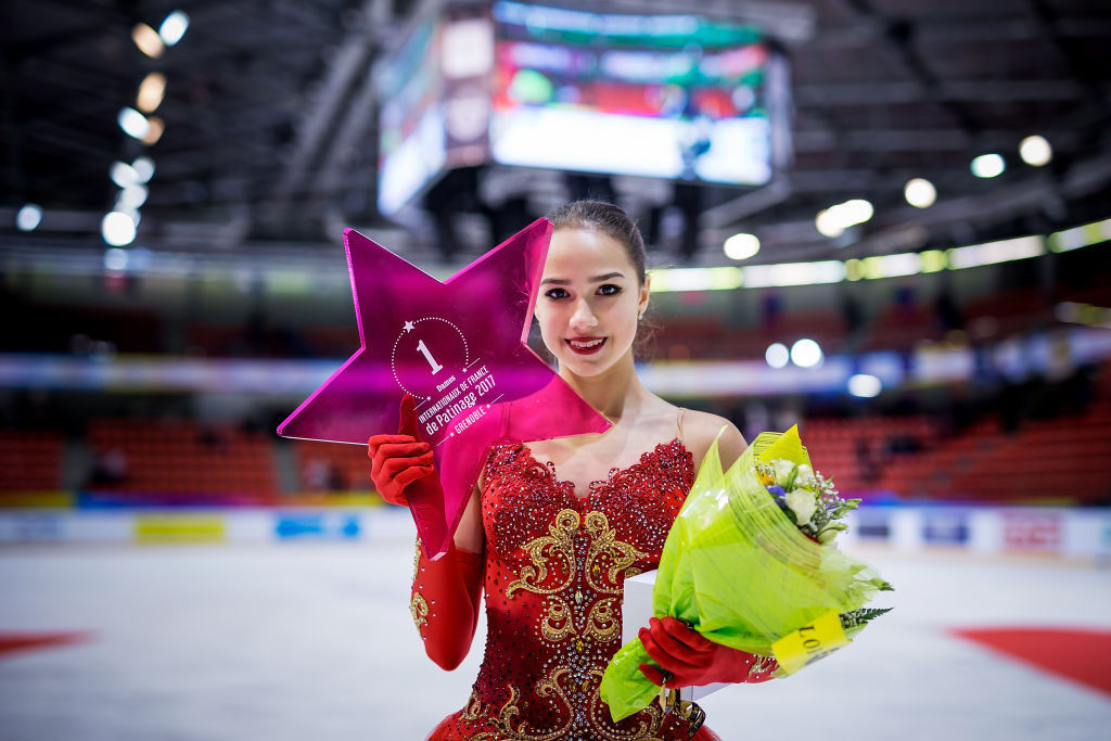 Olympic champ Zagitova in Minsk with something to prove