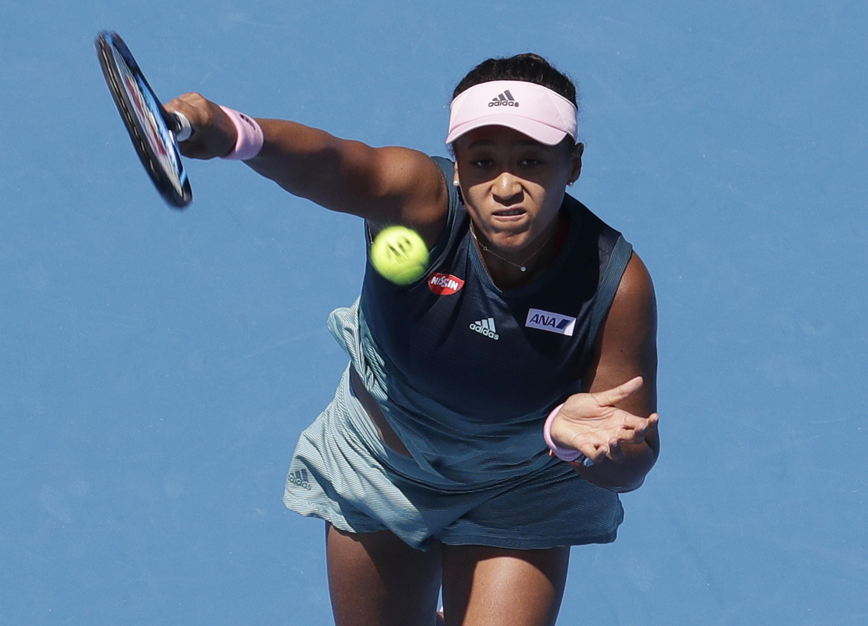 Japan's Osaka powers past injured Svitolina into Open semis