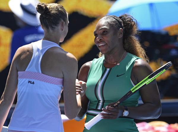 Pliskova slays Serena to set up Osaka semi-final