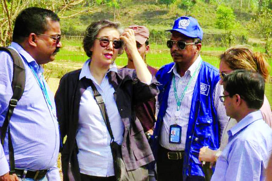 Yanghee Lee to visit Bhashan Char