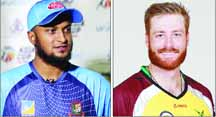 Guptill set to return for NZ, Bangladesh to miss Shakib