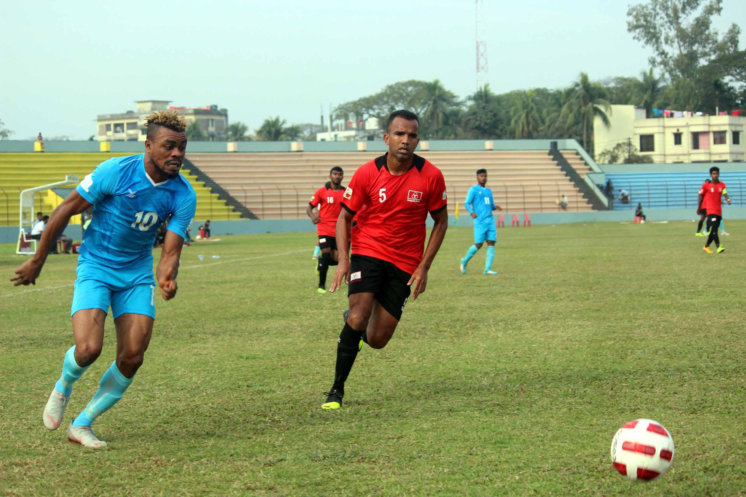 Ziban scores brace as Abahani beat Arambagh 2-1 in BPL
