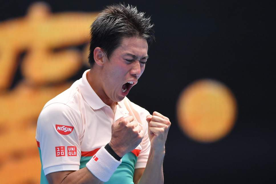 Nishikori rallies to overcome tough Rotterdam opener