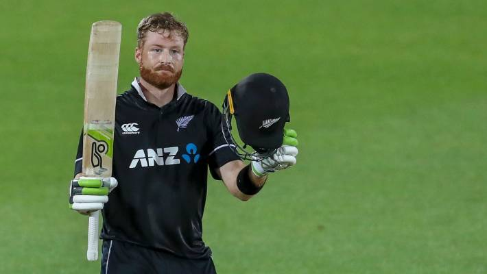 It was difficult to hit through the line of the ball in Napier: Guptill