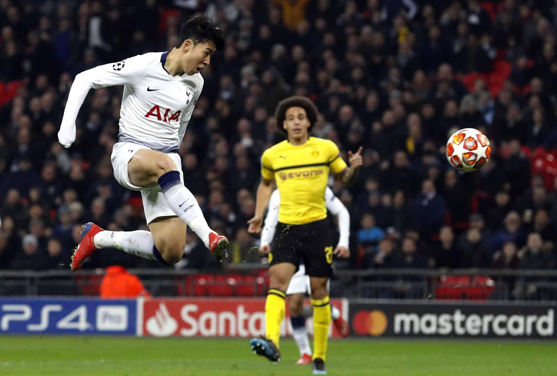 Spurs boss hails Spurs 'heroes' after Dortmund triumph