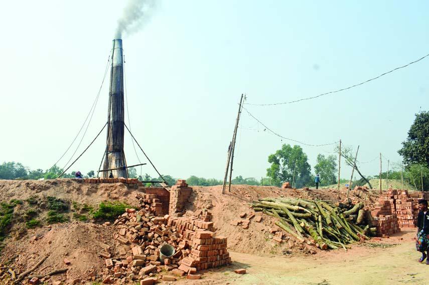 122 Illegal brick kilns in Mymensingh